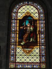 Eglise Saint-Vivien - English: Église Saint-Vivien de Saintes, vitrail 08