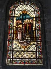Eglise Saint-Vivien - English: Église Saint-Vivien de Saintes, vitrail 09