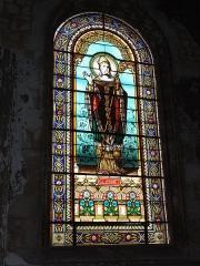 Eglise Saint-Vivien - English: Église Saint-Vivien de Saintes, vitrail 06