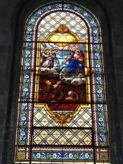 Eglise Saint-Vivien - English: Église Saint-Vivien de Saintes, vitrail 12