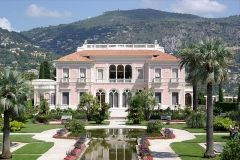 Villa Ile-de-France ou villa Ephrussi-de-Rothschild - English: The Villa Ephrussi de Rothschild, on the French Riviera in Saint-Jean-Cap-Ferrat (Alpes-Maritimes, Provence-Alpes-Côte d'Azur, France).