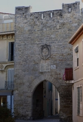 Enceinte de la ville - Français:   Enceinte construite au 15° siècle