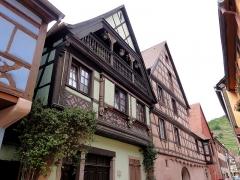 Ancien grenier de la dîme - Français:   Alsace, Haut-Rhin, Kaysersberg, Maison de notable dite \