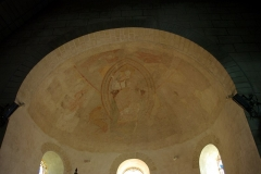 Eglise paroissiale Saint-Pierre - Français:   Voûte décorée du chœur de l\'église Saint-Pierre de Parçay-Meslay.