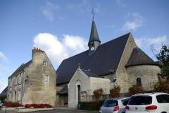 Eglise paroissiale Saint-Pierre - Français:   Église Saint-Pierre de Parçay-Meslay.