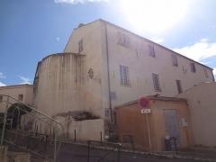 Ancienne église Saint-Jacques (San Giacomo, Ghjacumu) - Français:   Église Saint-Jacques de Bonifacio, Corse.  (Inscrit, 1994)