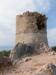 Tour de Roccapina - Français:   La tour de Roccapina, tour génoise du XVIIe siècle (commune de Sartène, Corse-du-Sud, France)
