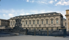 Palais de Justice - English:  Old jail and courthouse.