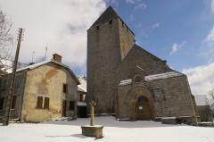 Eglise Saint-Sulpice -  Église Saint-Sulpice de Bourges de Saint-Sulpice-le-Dunois (23).