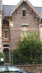 Maison - Maison au 30 rue Félix Faure à Nancy (54-France) - art nouveau - inscrite aux Monuments Historiques