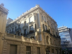 Palais Meyerbeer - Français:   Immeuble au 55 rue Meyerbeer à Nice, France