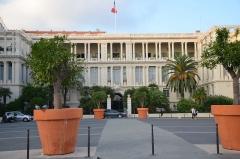 Palais de la Préfecture, ancien palais des rois de Sardaigne - Français:   Le palais des ducs de Savoie à Nice