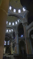 Eglise Sainte-Marie - Vue générale de la nef de l'église Sainte-Marie à Saint-Etienne, chef-lieu du département de la Loire