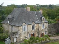 Ancien couvent bénédictin Notre-Dame - Français:   Nyoiseau - Abbaye - logis et parloir de l\'abbesse