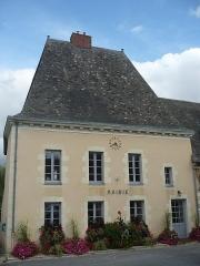 Ancien couvent bénédictin Notre-Dame - Français:   Mairie de Nyoiseau (Maine-et-Loire, France), située dans l\'ancien bâtiment de l\'abbaye Notre-Dame.