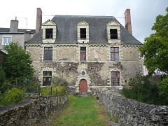Ancien couvent bénédictin Notre-Dame - Français:   Nyoiseau - Abbaye - logis des aumôniers