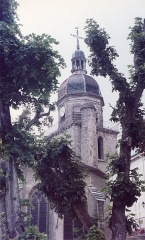Eglise - English: Église Saint-Amateur-et-Saint-Viateur de Saint-Amour en 1983
