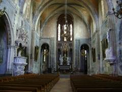 Abbaye Saint-Michel - Français:   L\'abbaye Saint-Michel de Gaillac, Tarn. Le chœur.