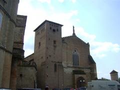 Abbaye Saint-Michel - Français:   L\'abbaye Saint-Michel de Gaillac, Tarn. La façade.