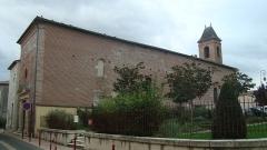 Ancienne chapelle des Pénitents Blancs - Français:   Cette ancienne chapelle au coeur de Villeneuve sur Lot est un édifice du 17e siècle.