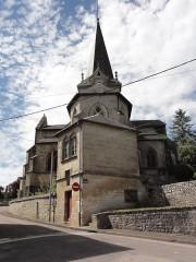 Eglise de l'Annonciation Notre-Dame - Français:   Dammarie-sur-Saulx (Meuse) église