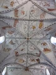 Cathédrale Notre-Dame de la Sède - Peintures de la voûte (fin du XVe siècle).