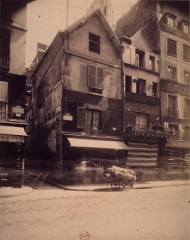 Immeuble - English: Middle-age houses at 174-176 rue St Denis (Paris, 2nd arr.)