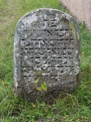 Cimetière juif -  Alsace, Bas-Rhin, Rosenwiller, Cimetière juif (PA00135148, IA00075623).    Plus ancienne pierre tombale visible: Aaron, fils de Samuel, assassiné à Dachstein en 1657.