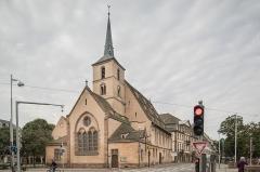 Eglise protestante Saint-Nicolas - Español: Église Saint-Nicolas de Strasbourg desde Quai Saint-Nicolas