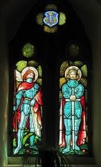 Eglise catholique Sainte-Odile - Français:   Alsace, Haut-Rhin, Église Sainte-Odile de Wintzfelden (PA00135161, IA68004402). Verrière \
