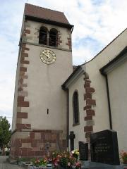 Eglise catholique Sainte-Odile - Français:   Église Sainte-Odile de Soultzmatt, Wintzfelden (Inscrit, 1995)