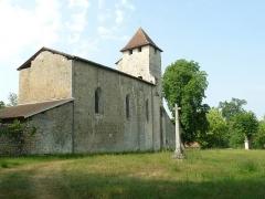 Eglise Saint-Martin de Noët - Français:   église de St-Martin-de-Noët, St-Justin, Landes, France