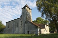 Eglise Saint-Martin de Noët - Français:   L\'église Saint-Martin de Noët est situé sur la commue de Saint-Justin, dans le département français des Landes.