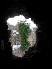 Château de l'Ours -  Vu de l'intérieur