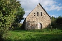 Ensemble fortifié de la chapelle et du pont de Chevré - English: Chapel of Chevré in La Bouëxière, Brittany, France