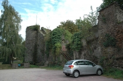 Remparts - Français:   Remparts, Place Sénéchal-Perret (Inscrit, 1995)