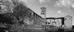 Couvent Saint-François du Bozio -  Alando, Bozio (Corse) - Ancien couvent Saint-François dit Couvent d'Alando (version N&B)