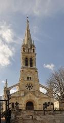 Eglise du Centre ou Saint-Clodoald - English:   Saint-Clodoald church in Saint-Cloud, Hauts-de-Seine department, France.