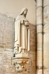 Eglise Saint-Amé - Français:   Statue de la Vierge, intérieur de l\'église Saint-Amé de Plombières-les-Bains