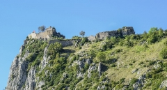 Château cathare - English: Castle of Roquefixade, Ariège, France