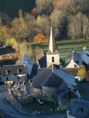 Eglise Notre-Dame de l'Assomption -  Azet (Hautes-Pyrénées, France), église Notre-Dame de l'Assomption.