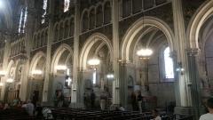 Domaine du sanctuaire de Lourdes -  Intérieur de la basilique de l'Immmaculée-Conception de Lourdes.