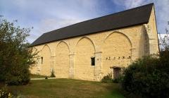 Ancien manoir de l'abbaye du Val Richer, dit Ferme de Foudenpant - Français:   Grange aux dîmes de Foupendant,  (Inscrit, 1995)