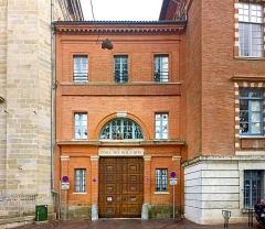 Ancien prieuré de la Daurade - English:  École supérieure des beaux-arts from Toulouse,  entrance.