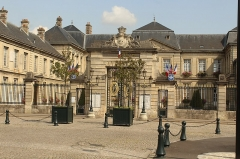 Hôtel de ville - English:   Soissons, the town hall