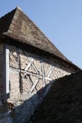 Domaine des Girodeaux - Français:   Détail de la construction du pigeonnier-porche du domaine des Girodeaux