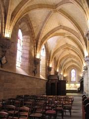 Eglise Saint-Saturnin -  Bas côté Est de l'église Saint Saturnin à Cusset.
