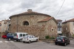 Temple protestant situé au Rousselet - Français:  Temple protestant des Vans (France).