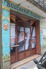 Boutique dite Boucherie moderne - Français:   Pamiers, Boucherie moderne, 81 rue Gabriel-Peri