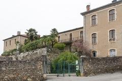 Ancien Hôtel Dieu, actuellement résidence Hector d'Ossun -   Saint-Lizier, Ariège, France - Former Hôtel-Dieu.